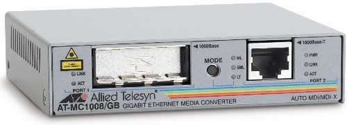 Медиаконвертер Allied Telesis AT-MC1008/GB